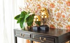 Ứng dụng họa tiết hoa cổ điển trong phong cách hiện đại