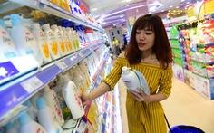 Thói quen vào siêu thị mua hàng hóa mỹ phẩm