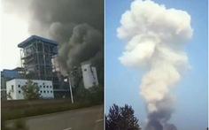 Nhà máy khí đốt Trung Quốc nổ tung, nhiều người thương vong và mất tích
