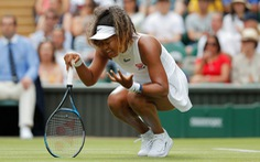 Naomi Osaka bất ngờ bị loại ngay vòng đầu Wimbledon