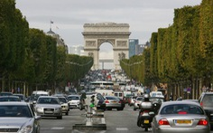 Paris cấm toàn bộ ôtô cũ chạy diesel tại trung tâm