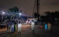 5 bé chơi ở công trường đường Vành đai 2 bị điện giật, 2 bé chết, 1 cấp cứu