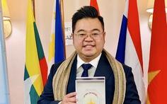 Võ Quân Duy nhận Giải thưởng thanh niên Asean xuất sắc năm 2019
