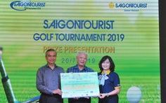 Giải golf từ thiện trao 600 triệu cho học sinh nghèo
