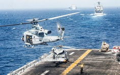 'Điềm gở' tại eo biển Hormuz