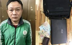 Trinh sát rượt đuổi bắt 'nóng' tài xế Grab dỏm rảo xe trộm cắp ở Sài Gòn