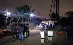Điện giật chết 2 bé trai: Lô cốt công trường vừa được tháo để thi công