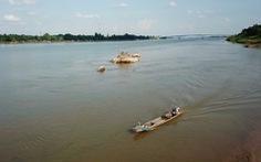 Nước sông Mekong ở Thái xuống mức thấp nhất trong trăm năm qua