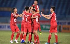 Hà Tĩnh - Viettel (hiệp 1): 0-0