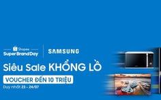 Shopee và Samsung công bố hợp tác chiến lược