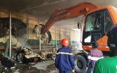 Cháy kho sợi trong khu công nghiệp ở Huế, chủ tịch tỉnh ra hiện trường