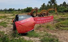 Thầu phụ ngưng làm cao tốc Trung Lương - Mỹ Thuận vì... hết tiền