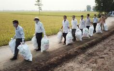 Thu gom gần 14 tấn vỏ chai lọ thuốc bảo vệ thực vật ngoài ruộng đồng