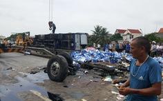 Khởi tố vụ án, tạm giữ hình sự tài xế gây tai nạn thảm khốc tại Hải Dương