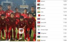 Bảng xếp hạng FIFA tháng 7-2019: Tuyển Việt Nam tụt hạng, hơn Thái Lan 18 bậc