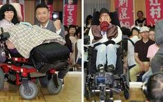 Ngồi xe lăn vào Thượng viện Nhật Bản