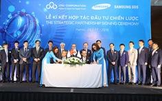 Samsung SDS đầu tư mua 25% cổ phần của CMC