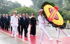 Lãnh đạo Đảng, Nhà nước tưởng niệm anh hùng liệt sĩ
