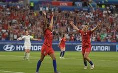 Đá bại Anh, tuyển nữ Mỹ vào chung kết World Cup
