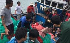 Đã tìm được thi thể 4 ngư dân bị chìm tàu ở Hòn Cau
