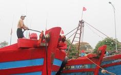Ngư dân hối hả vào bờ tránh bão số 2