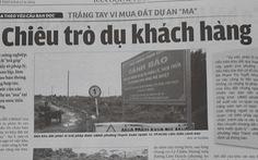 UBND TP.HCM chỉ đạo kiểm tra thông tin 'trắng tay vì mua đất dự án ma'