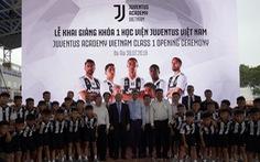 60 cầu thủ nhí trúng tuyển khóa đầu Học viện Juventus VN