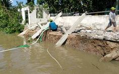 Khẩn cấp xử lý sạt lở nghiêm trọng ở huyện đầu nguồn sông Hậu