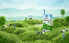 Chuyện chưa kể của bộ ảnh sữa tươi Organic