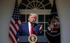 Vài giờ sau khi đoàn Mỹ đến Trung Quốc, ông Trump 'dội bom' Twitter