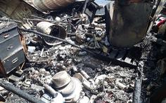 Cháy nhà máy sản xuất trấu, 1 công nhân bị bỏng nặng