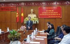 Ông Nguyễn Thành Long nắm quyền chủ tịch UBND tỉnh Bà Rịa - Vũng Tàu