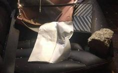 Ném đá vào ôtô trên cao tốc Hà Nội - Thái Nguyên khiến hành khách bị thương