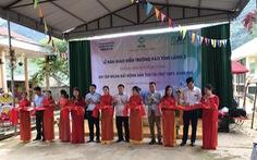 Tập đoàn TLM bàn giao điểm trường tại Điện Biên
