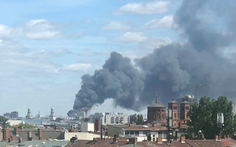 Cháy chợ Đồng Xuân lớn nhất của người Việt ở Berlin