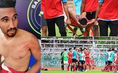 Video 'hành động côn đồ' cầu thủ Thái Lan ở Thai League 4