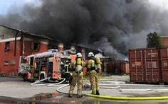 Cháy chợ Việt Nam tại Đức: đã kiểm soát được ngọn lửa