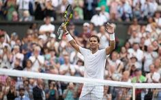 Nadal đi tiếp vào vòng 3 Wimbledon nhờ đối phương 'hờn dỗi'
