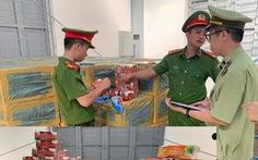 7.000 hộp shisha từ TP.HCM ra Hà Nội bị 'dính' ở Thanh Hóa