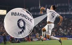 Ibrahimovic lập cú đúp khi mặc áo đấu ghi… nhầm tên