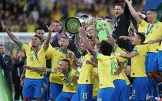 Tuyển Brazil tưng bừng mừng ngôi vương ở Copa America 2019