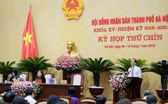 Hà Nội: Đại biểu sẽ tiếp tục chất vấn để 'giám sát đến cùng'
