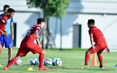 U23 Việt Nam hứng khởi trong ngày đầu tập luyện tại PVF