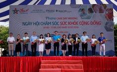 Ngày hội chăm sóc sức khỏe cộng đồng tại Cần Thơ