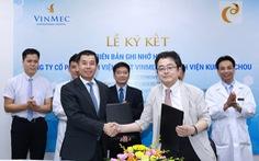 Nhật chuyển giao công nghệ điều trị ung thư gan cho Bệnh viện Vinmec