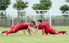 Tuyển thủ Nguyễn Tiến Linh: 'Chủ yếu làm quen người mới để chuẩn bị cho SEA Games'