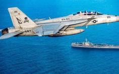 Tiêm kích F/A-18 của Hải quân Mỹ rơi, 7 người bị thương