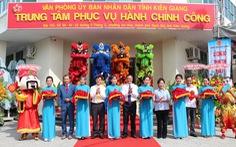 Trung tâm hành chính công Kiên Giang hoạt động với phương châm '5 hơn'
