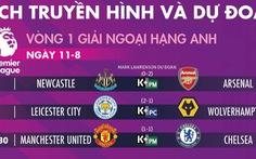 Lịch trực tiếp M.U gặp Chelsea ở vòng 1 Premier League 2019-2020