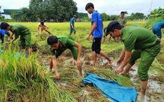Vùng 'rốn lũ' khắc phục hậu quả mưa bão